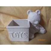 bear with toy box