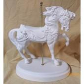 Carousel Christmas horse