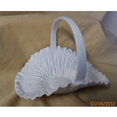 small pleated basket