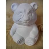 panda bear cookie jar