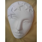 lady with stars mask