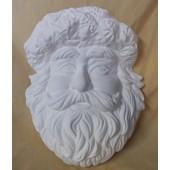 Santa with pinecones mask