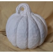 round carved pumpkin