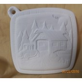 pot holder 7 car and covered bridge