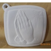 pot holder 19 praying hands