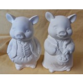 Mr. and Mrs. Pig