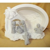large Nativity scene
