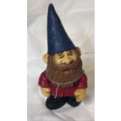 gnome with pointed hat