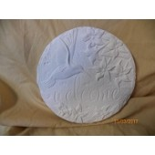 hummingbird plaque or stepping stone