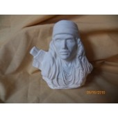 Indian warrior bust