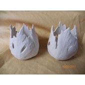 oak leaf candle cups