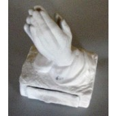 praying hands with drawer