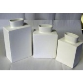 rectangular vases
