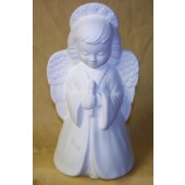 small angel holding candle