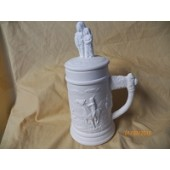 small stein with Indian family