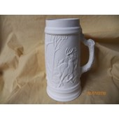 small tankard with deer