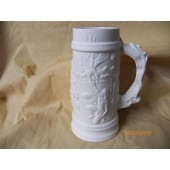 small tankard with Native Americans