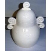 spiral handle jar