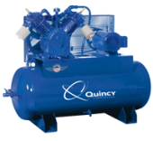Quincy-Two stage Air Compressor 15 HP