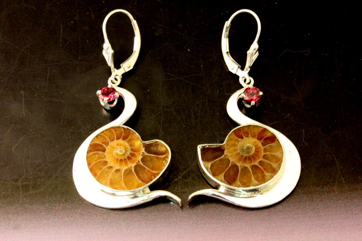 Ssterling Swan Earrings