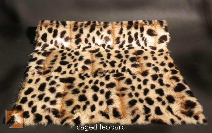 """Genuine Fake""tm Caged Leopard Fur"