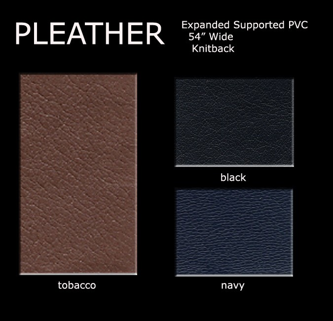 Pleather Color Card