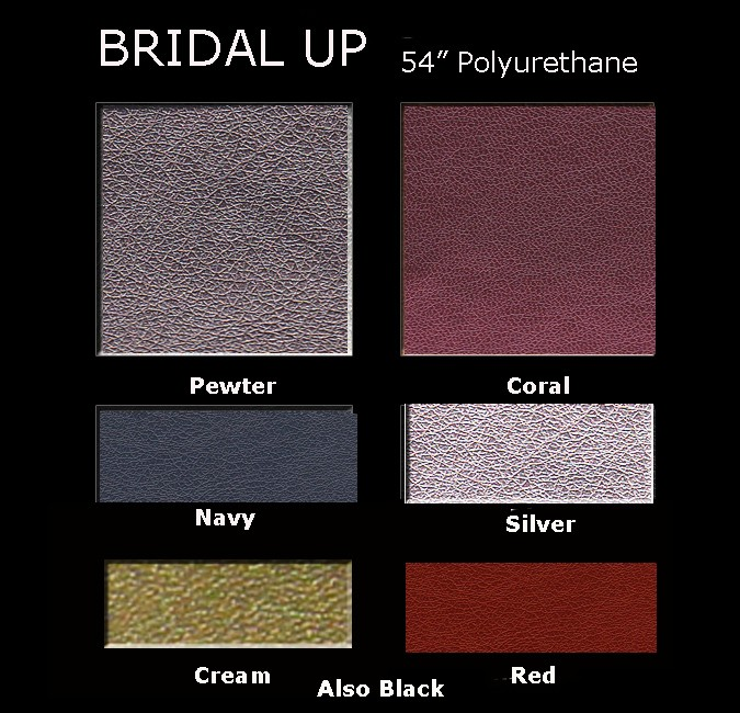 Bridal up Polyurethane Color Card