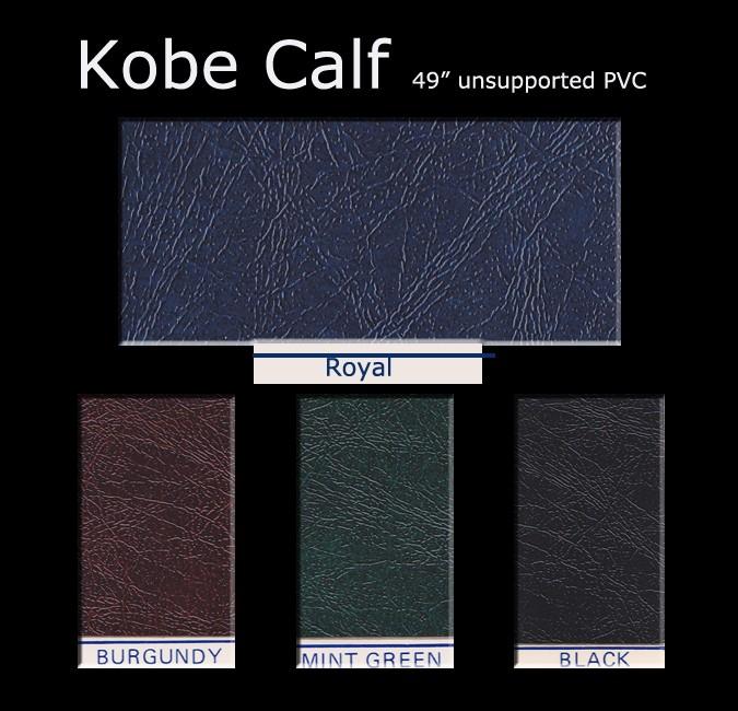 Kobe Calf Color Card