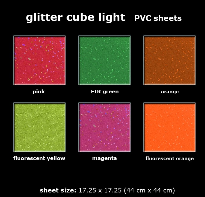 Cube Light Reflective Sheets