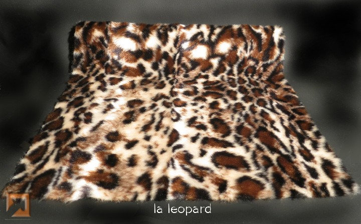 """Genuine Fake""tm LA Leopard Fur"