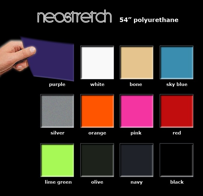 Neostretch Color Card