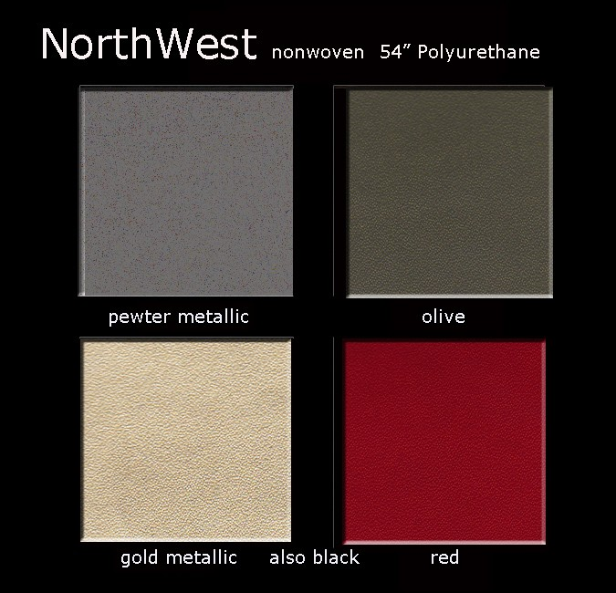 Northwest Polyurthane Color Card