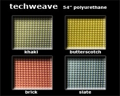 Techweave Color Card