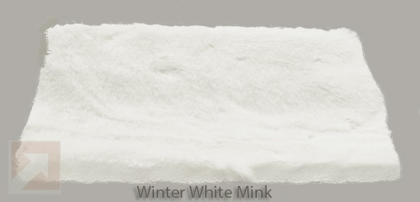 Winter White Mink Faux Fur