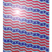 American Flag Wave Holographic Film