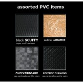 Assorted Embossed PVC