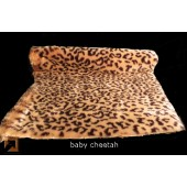 "Baby Cheetah, high pile, ""genuine fake""tm Fur"