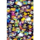 """Lenticular Sheets 14 1/2"""" x 19"""" - Halloween 3D"""