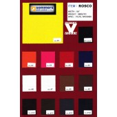 Rosco Polyurethane Color Card