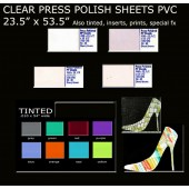 Press Polish Sheets Card
