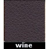 Wine Waxy Pleather Polyurethane