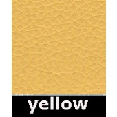 Yellow Waxy Pleather Polyurethane