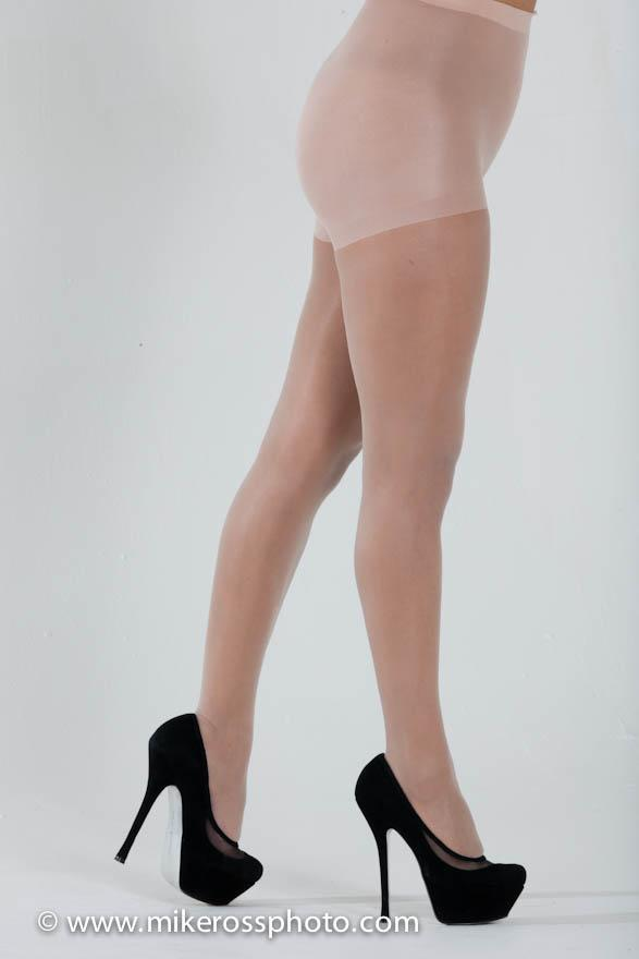 Difficult toeless pantyhose target think