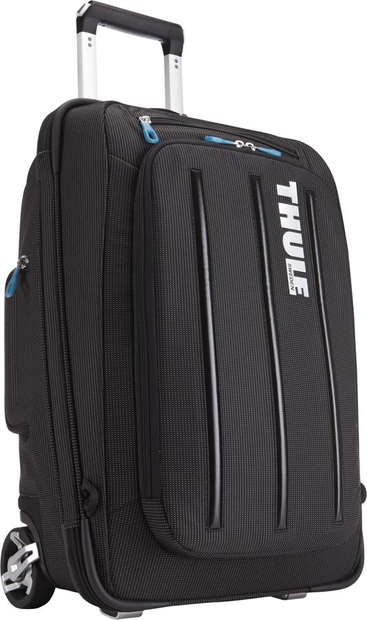 Thule - Crossover 38L Rolling Carry-On with Laptop BLACK