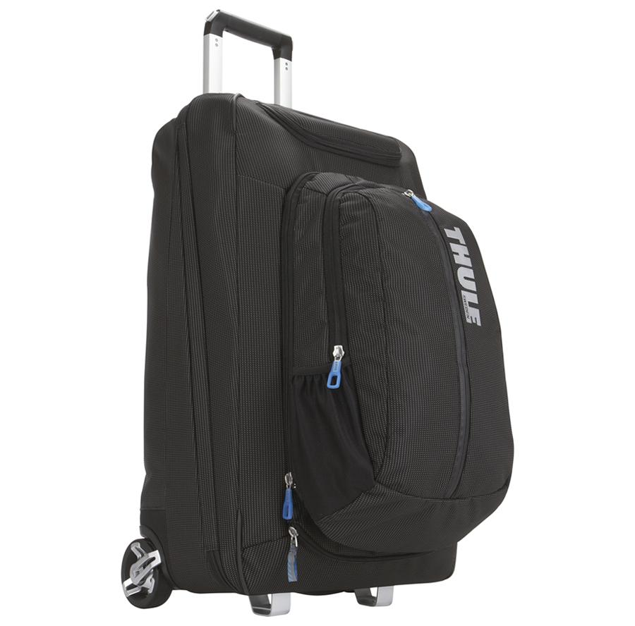 Thule - Crossover 60L Rolling Upright w/ Detachable Race Pack
