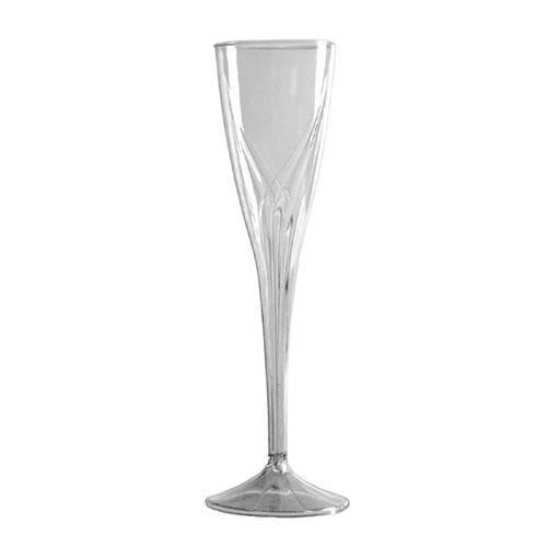 CLASSICWARE CHAMPAGNE GLASS 1PC 5 OZ CLR 10/10'S