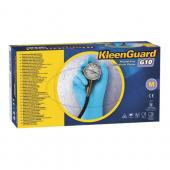 KLEENGARD G10 PWDR-FREE GLOVE LG RBR-LTX BLU 100