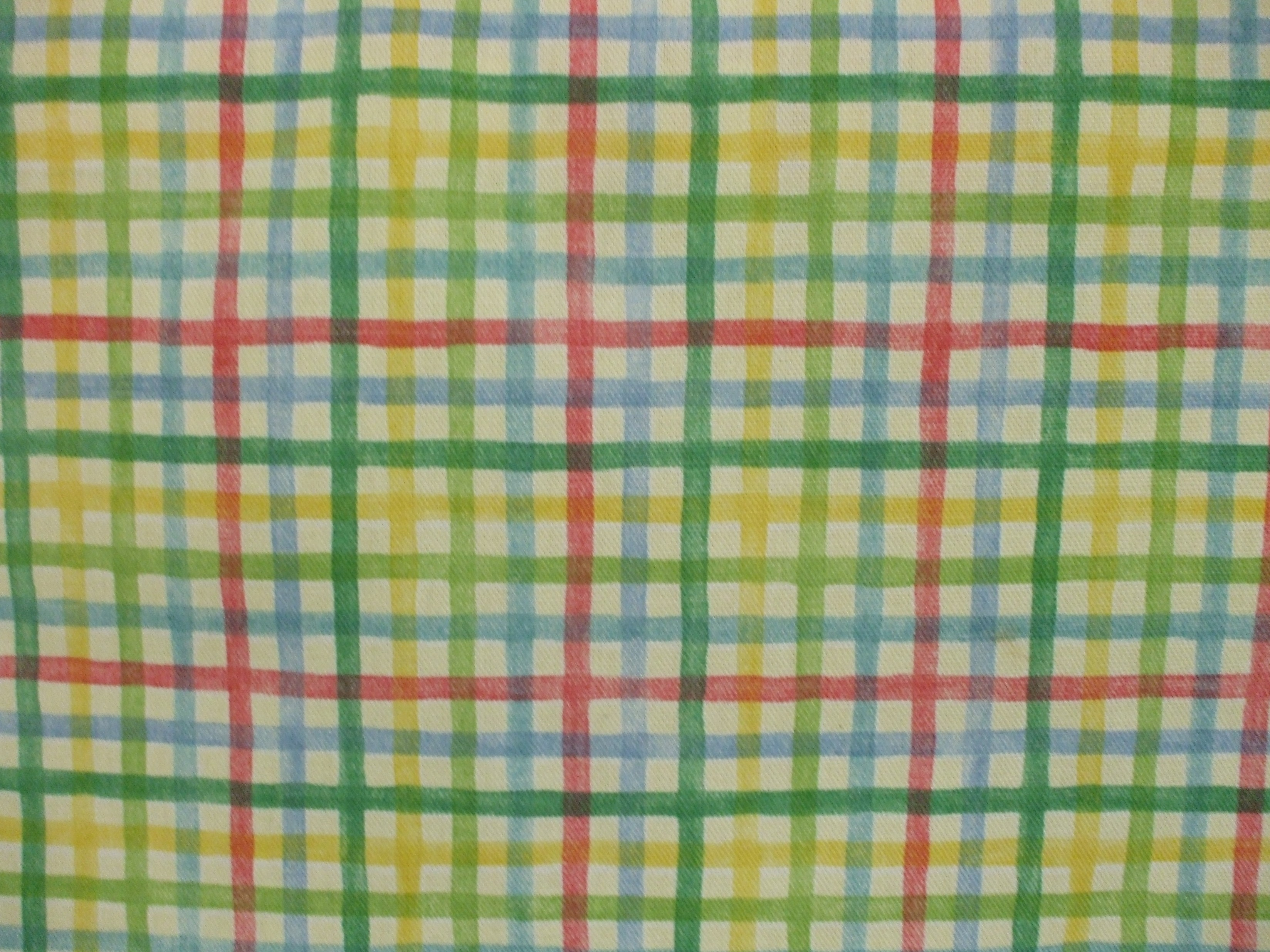 Waverly Rainbow Plaid Tropical