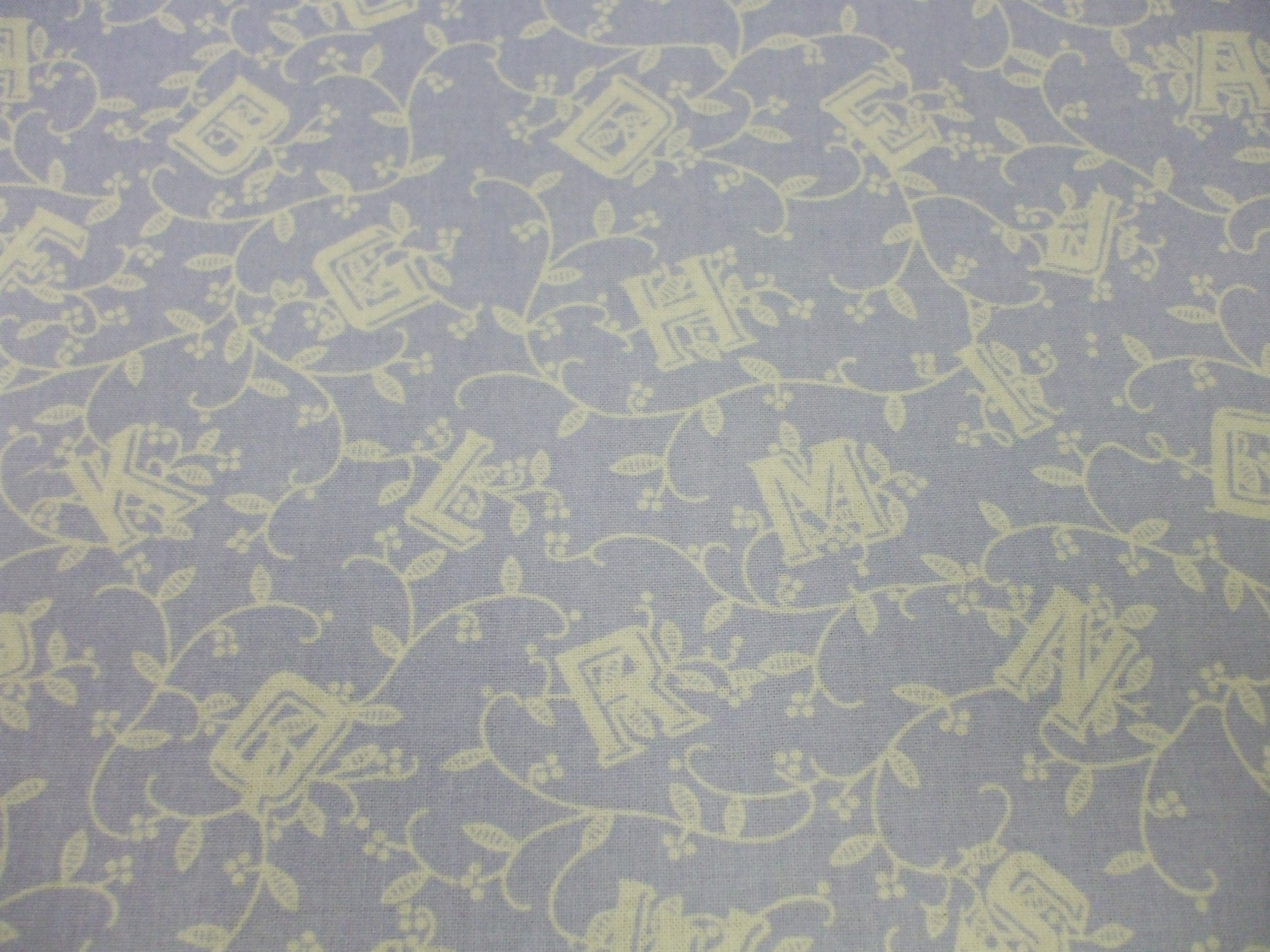 Laura Ashley ABC Blocks lavender