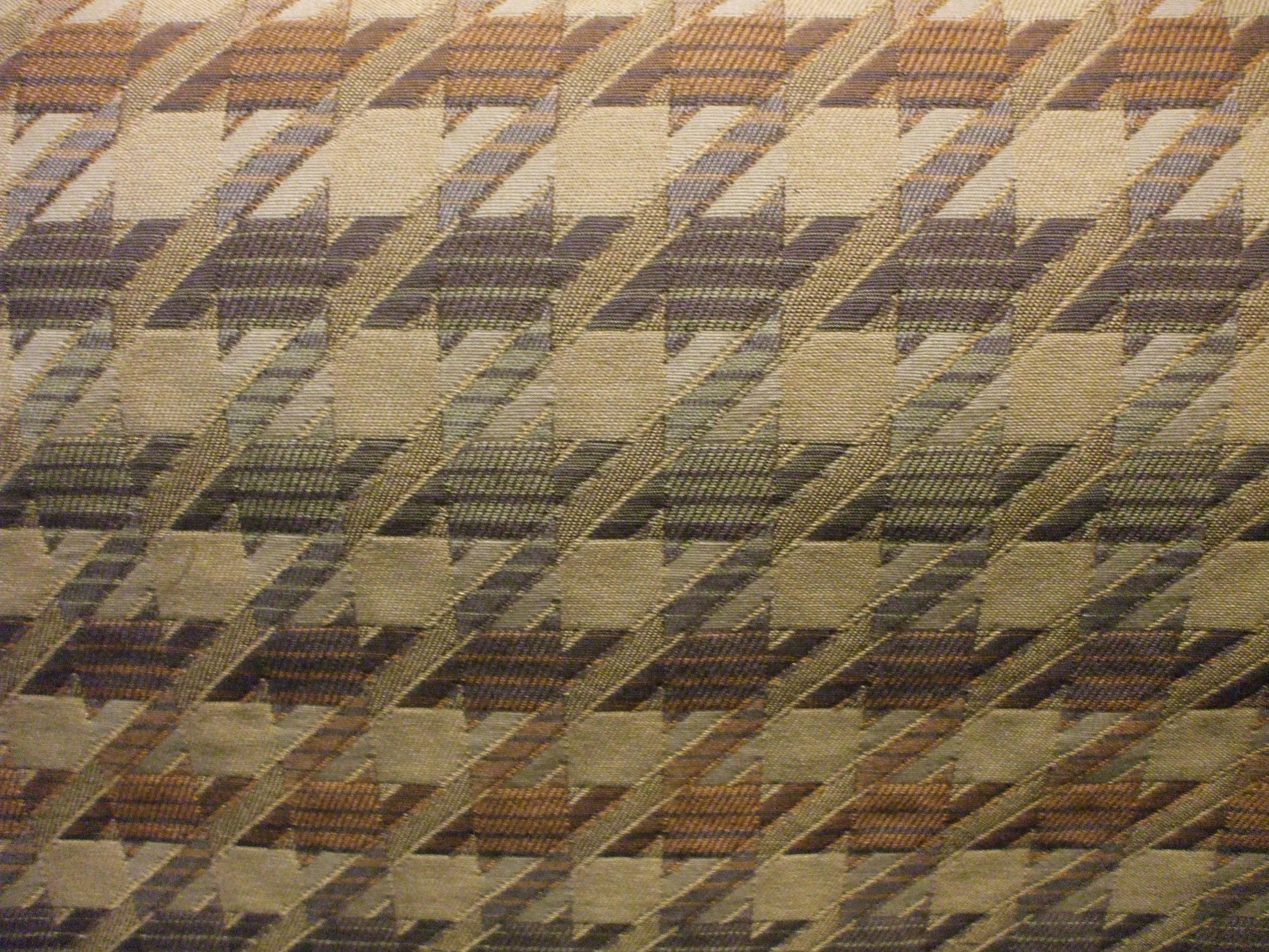 Barrow Hounds Tooth Multi Color Upholstery Fabric